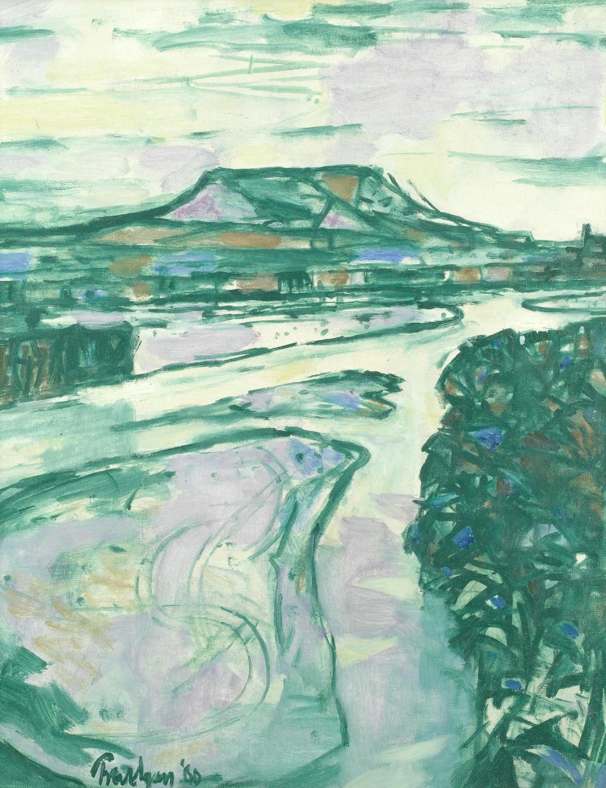 Julian Trevelyan - Le Durance Near Cavaillon-