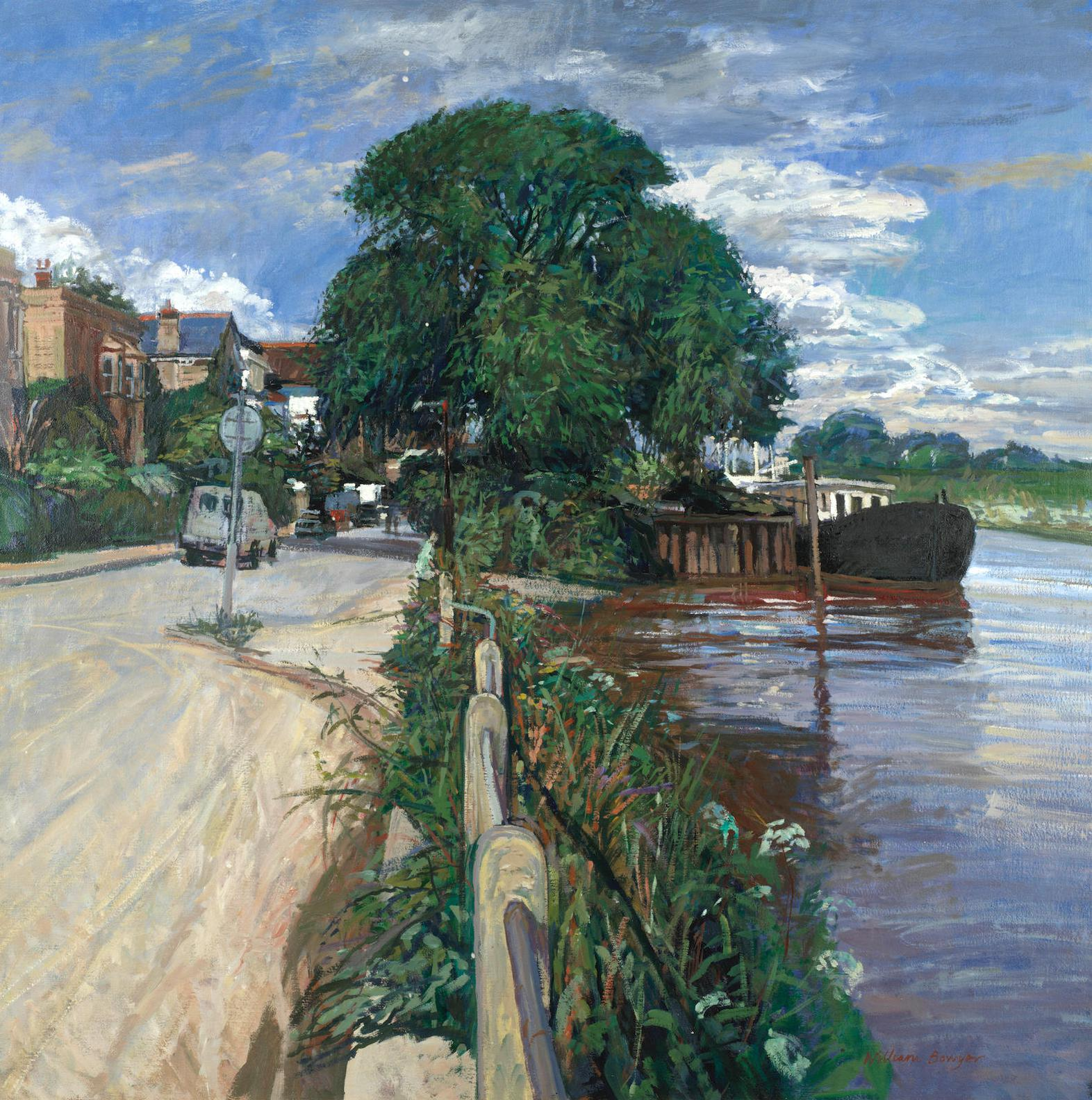 William Bowyer - The Thames At Chiswick-
