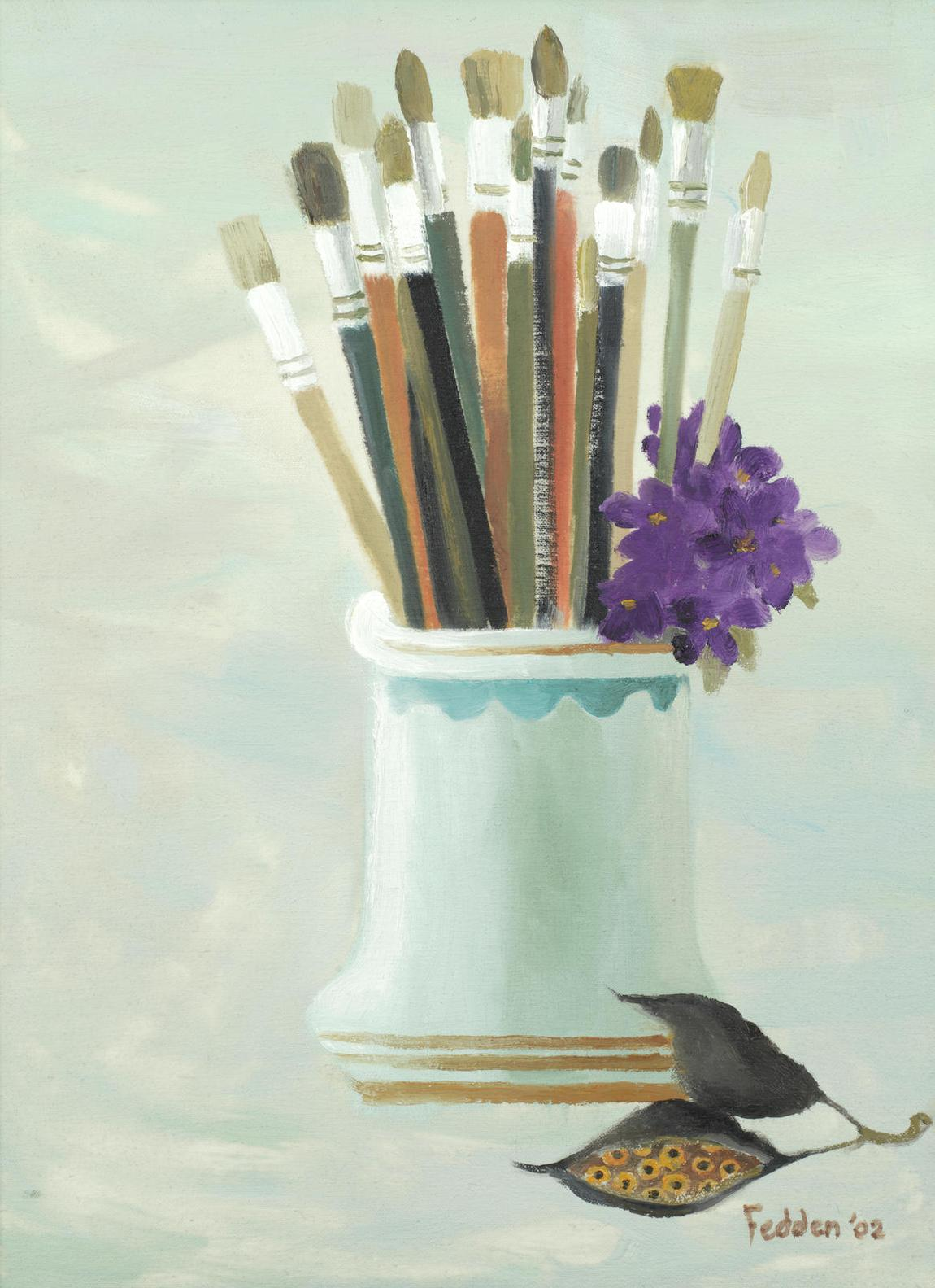 Mary Fedden - My New Brushes-2002