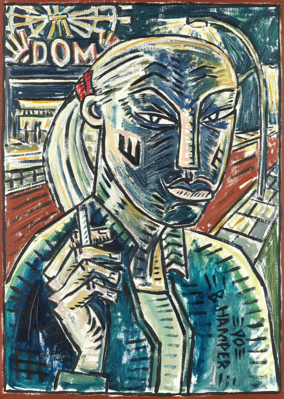 Billy Childish - At The Dom-1990