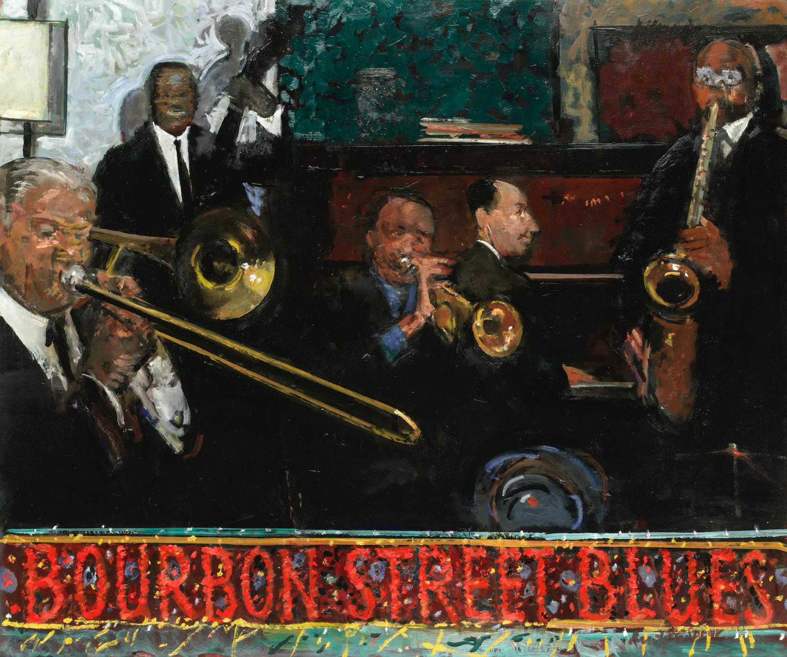 Ruskin Spear - Bourbon Street Blues-