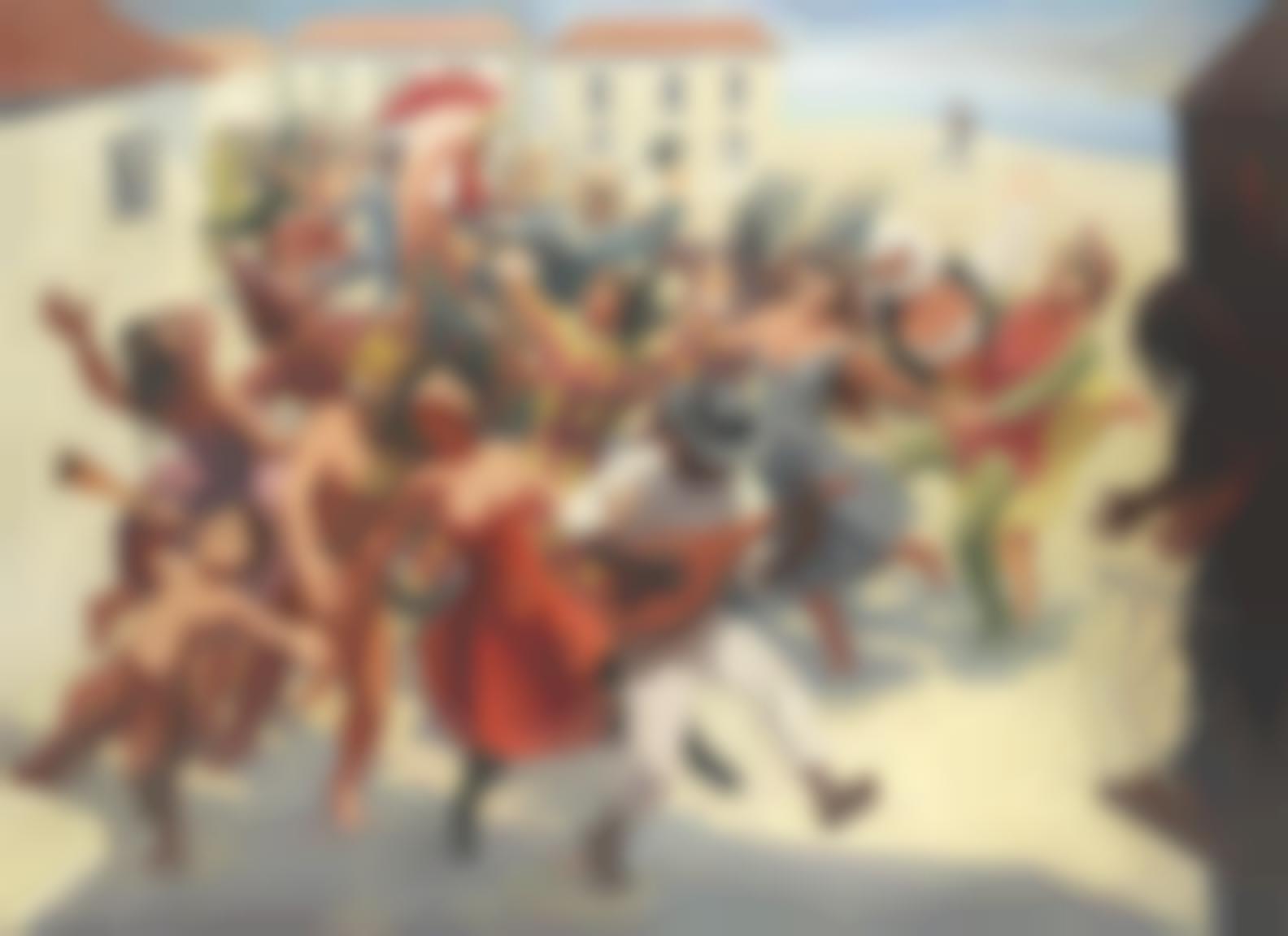 Frederick Gore - Carnival Scene-