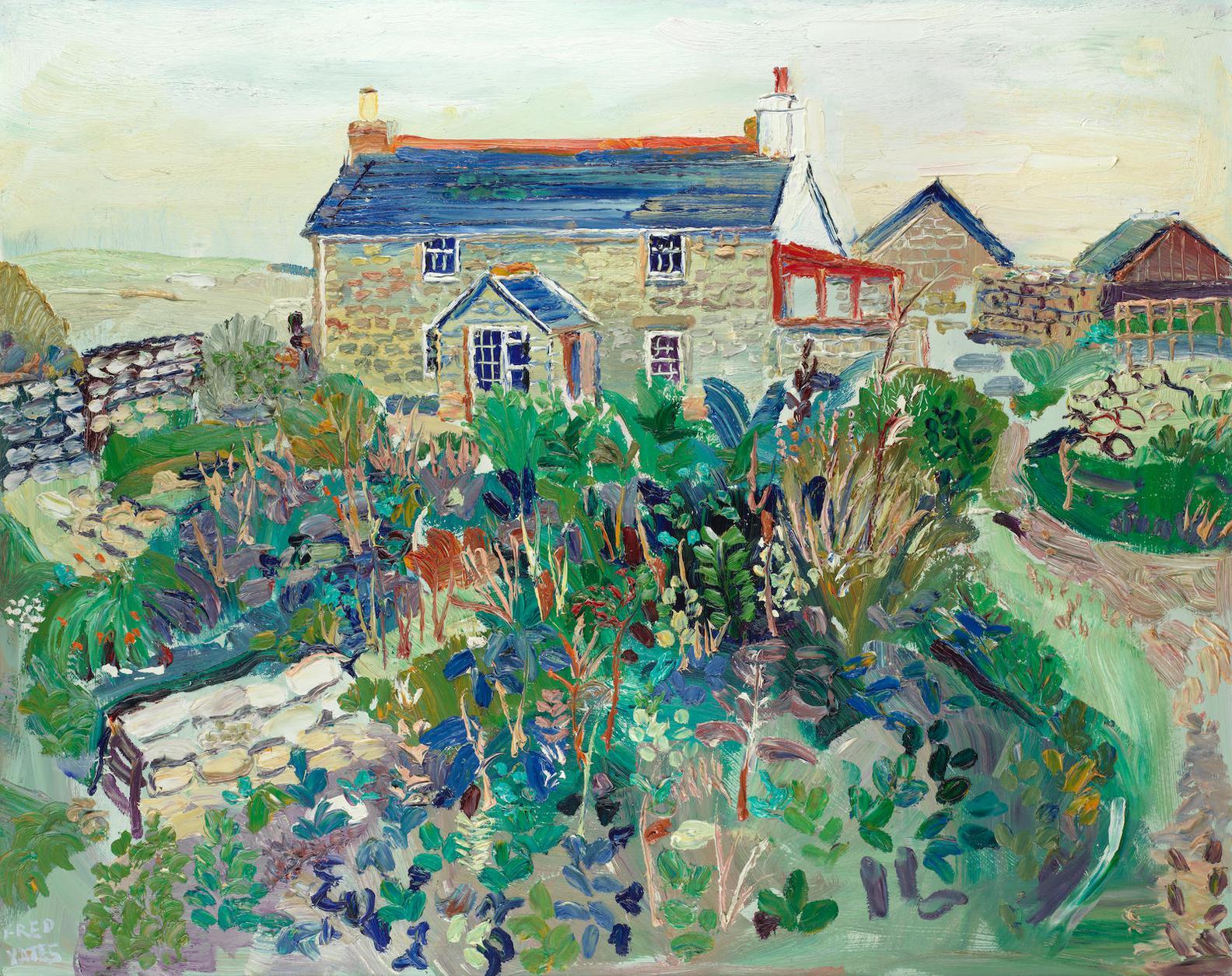 Fred Yates - Cottage, Newbridge-