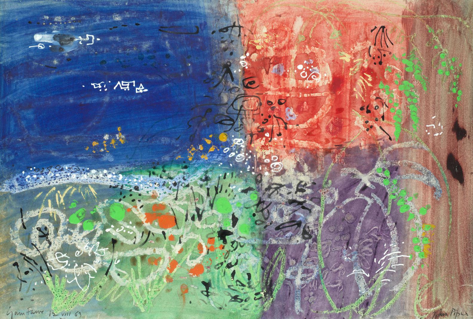 John Piper - Garn Fawr-1969