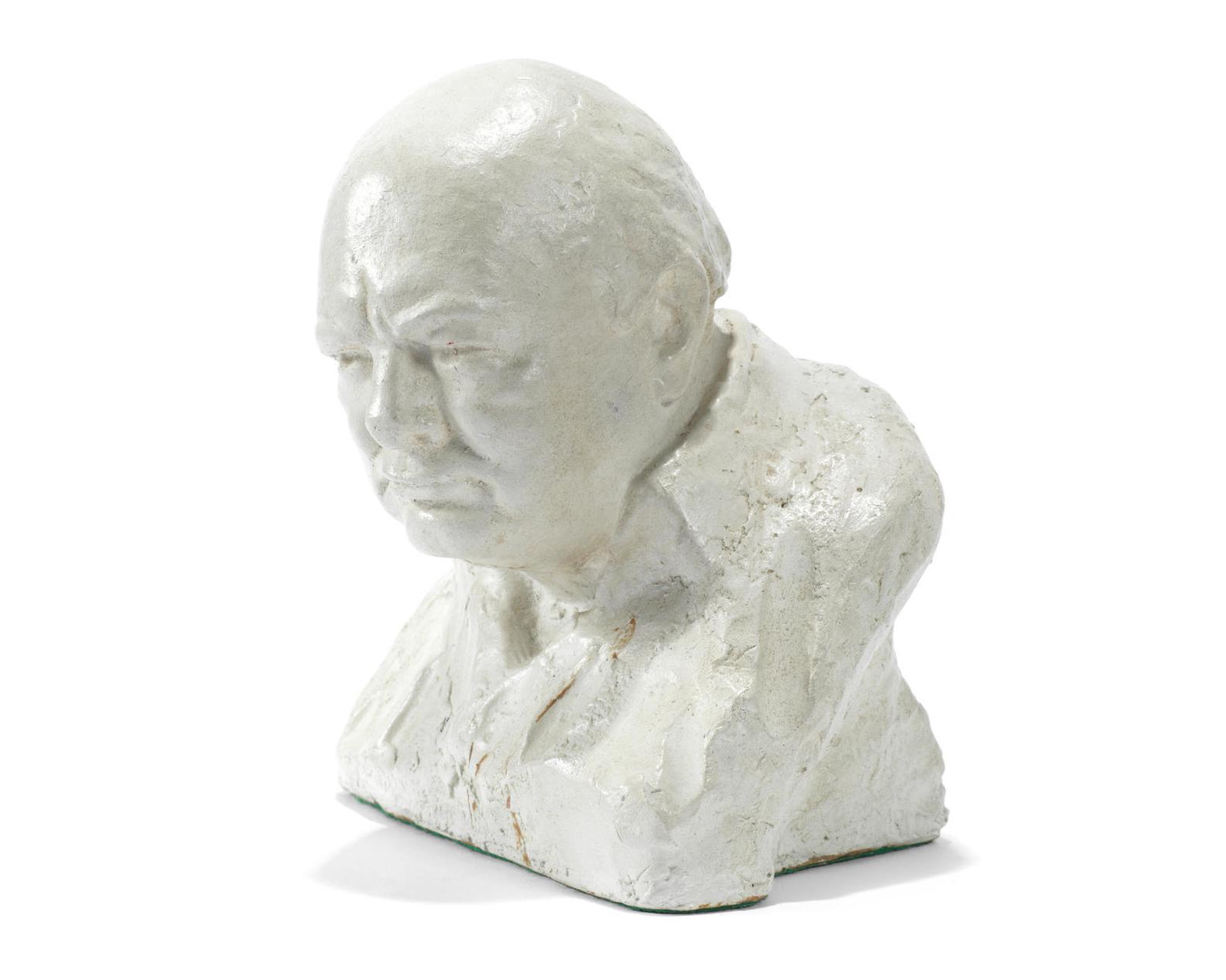 Oscar Nemon - Bust Of Sir Winston Churchill-