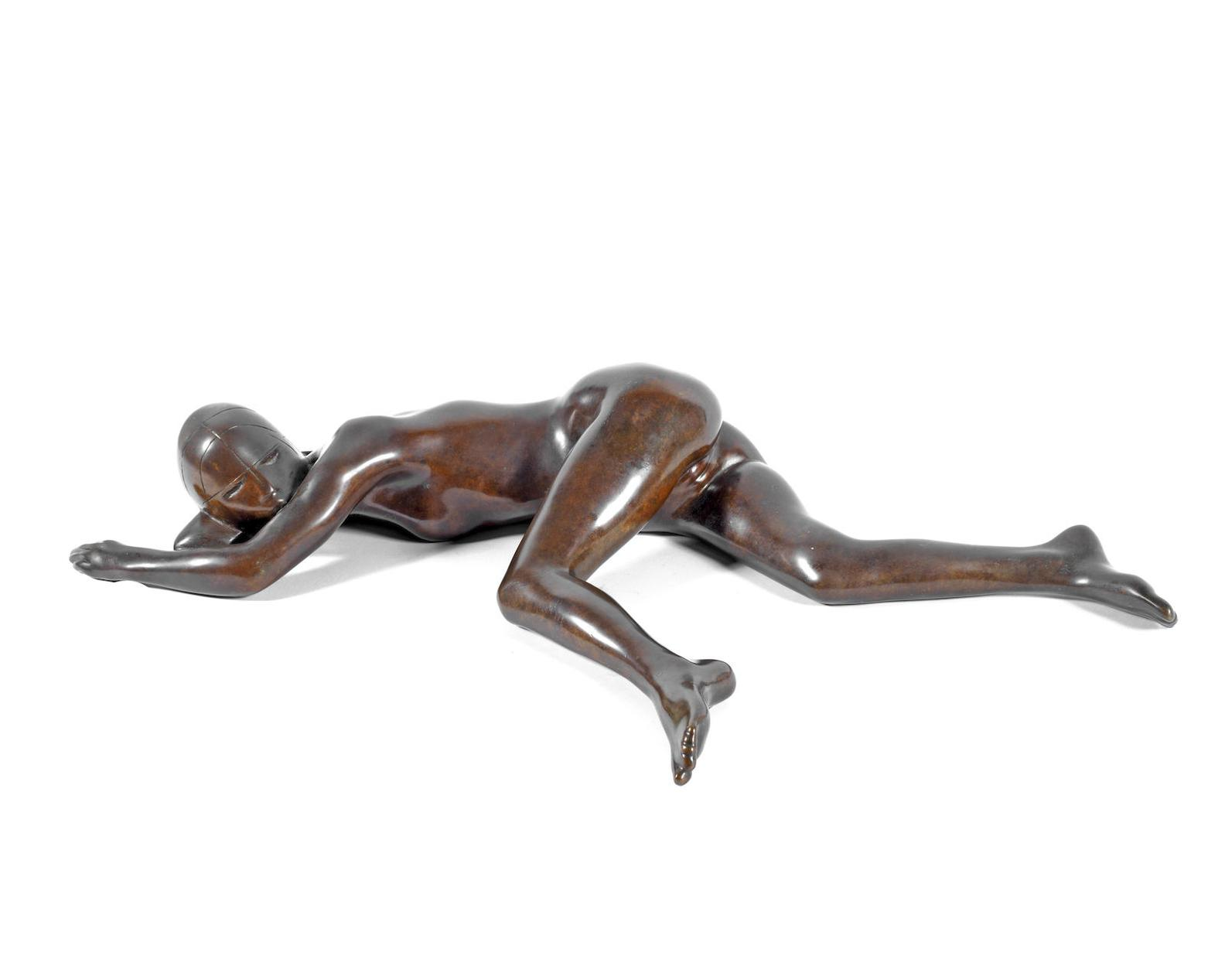 Ralph Brown - Girl Waking Maquette-1981