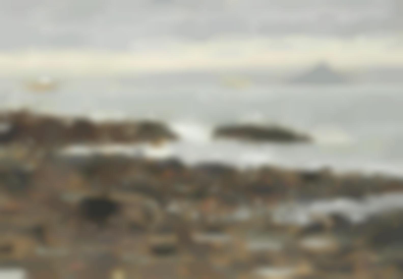 Ken Howard - View Of St Michaels Mount-