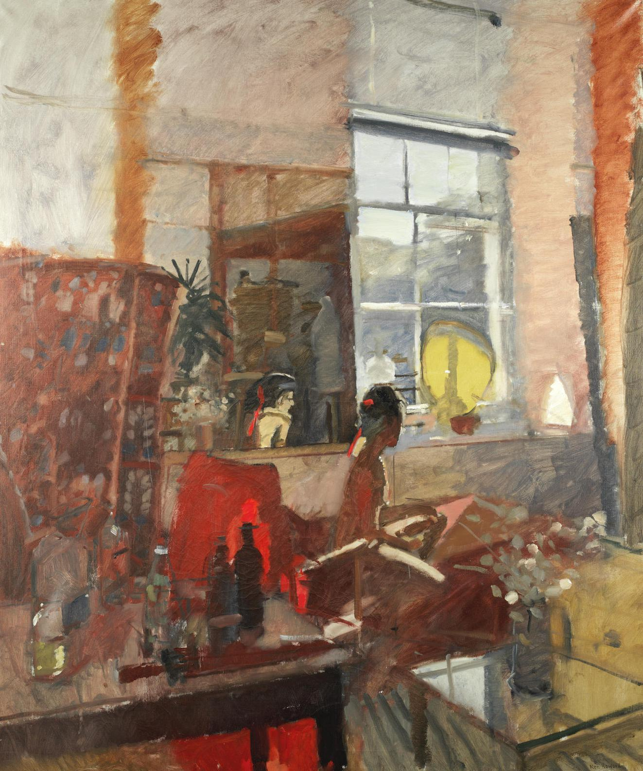 Ken Howard - Model In The Artists Studio-