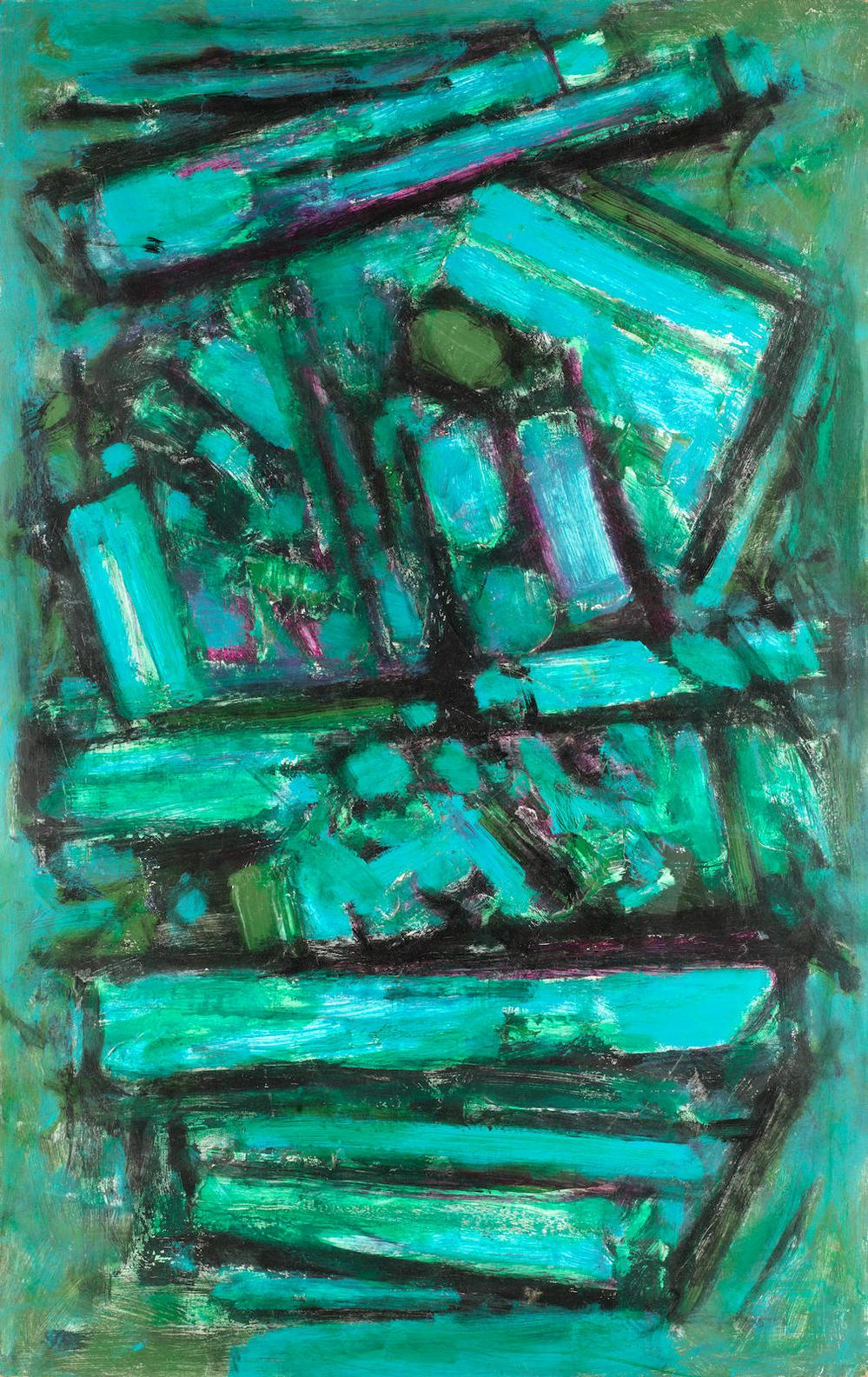 Frank Avray Wilson - Abstract In Green-