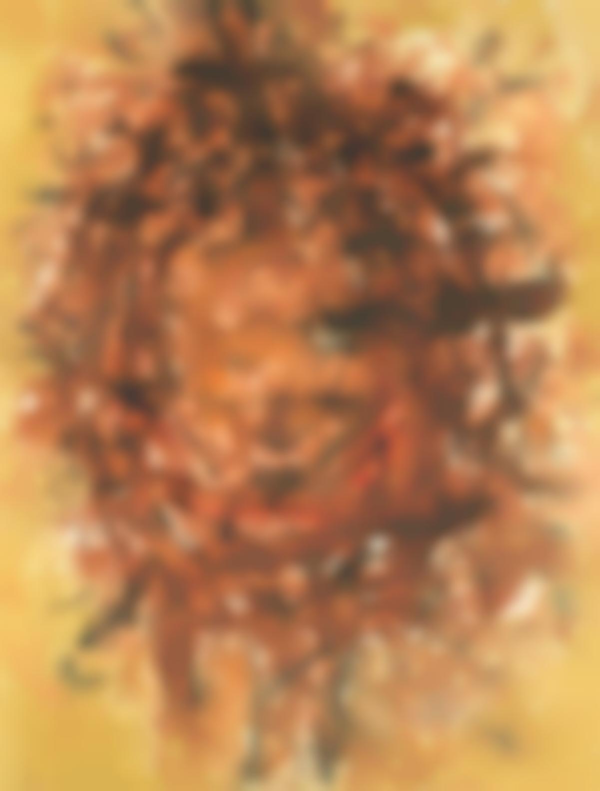 Frank Avray Wilson - Untitled, Orange-