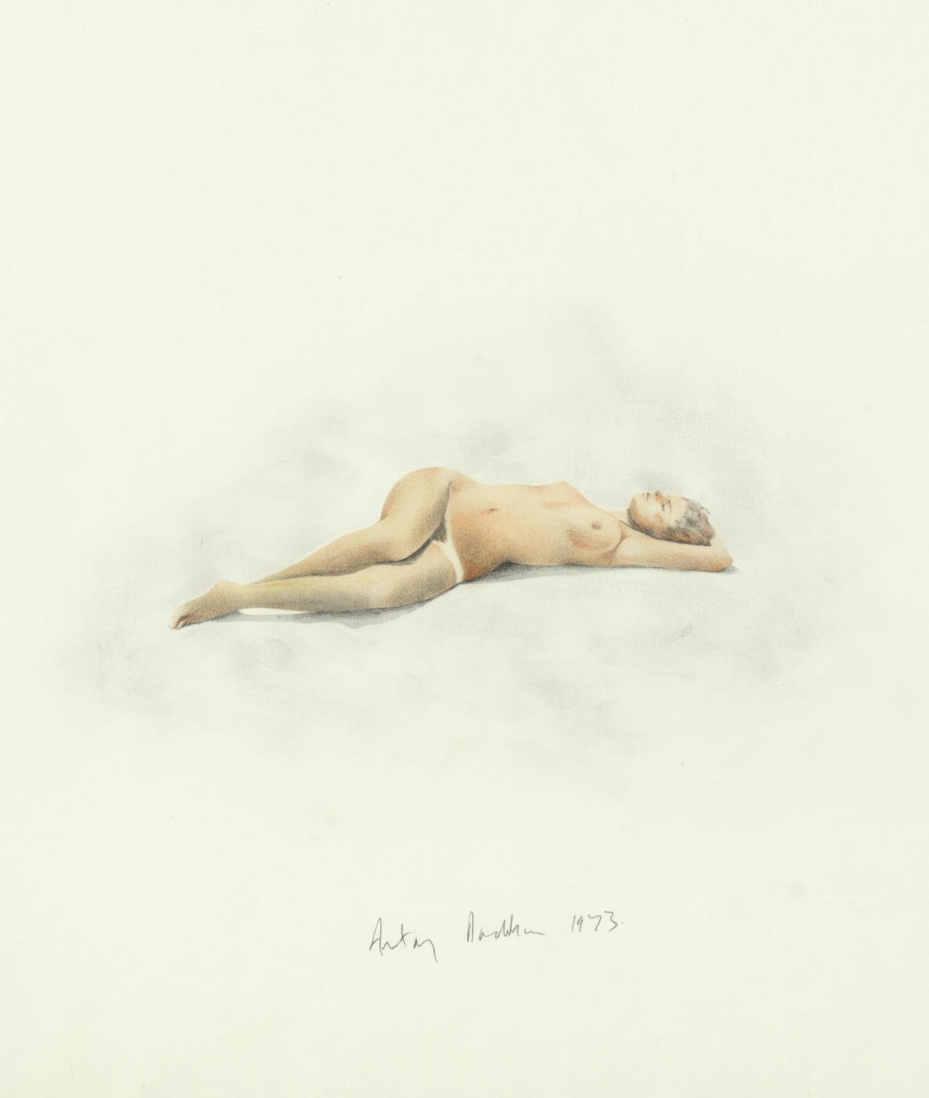 Antony Donaldson - Reclining Female Nude-1973