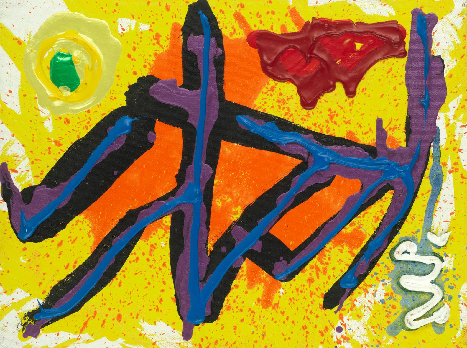 John Hoyland - A Year Gone-1994