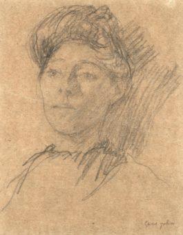 Gwen John - Portrait Of A Lady