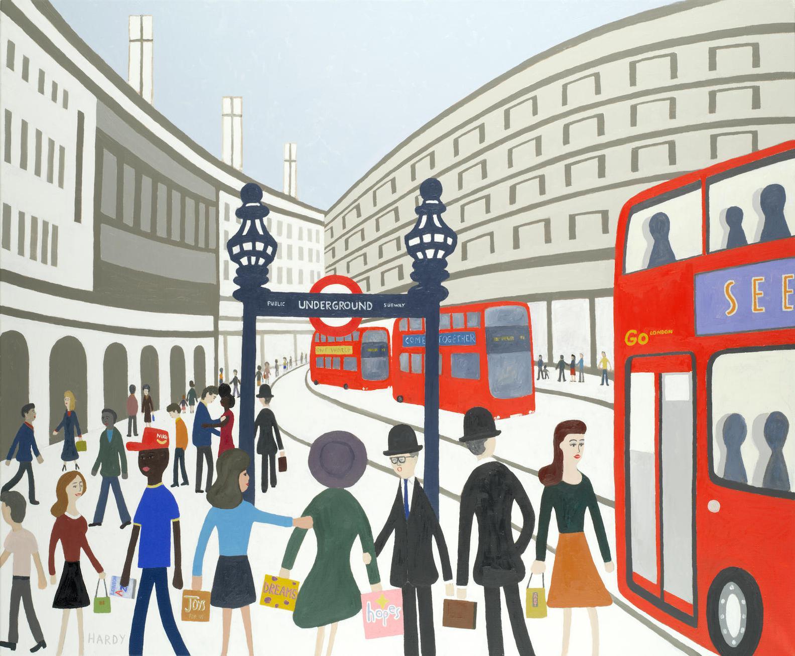 Robert Hardy - Regent Street-2015