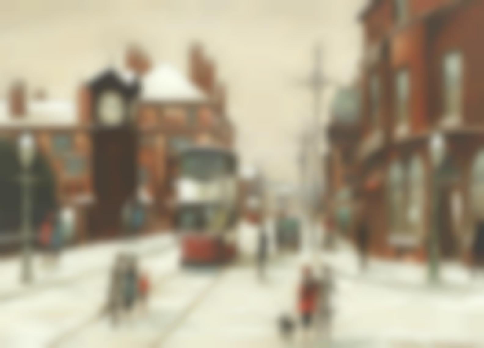 Arthur Delaney - Altrincham Street Scene-
