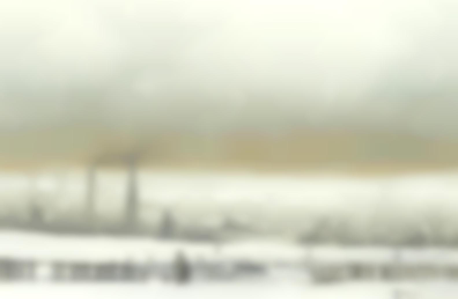 Brian Shields - Industrial Landscape, Winter-