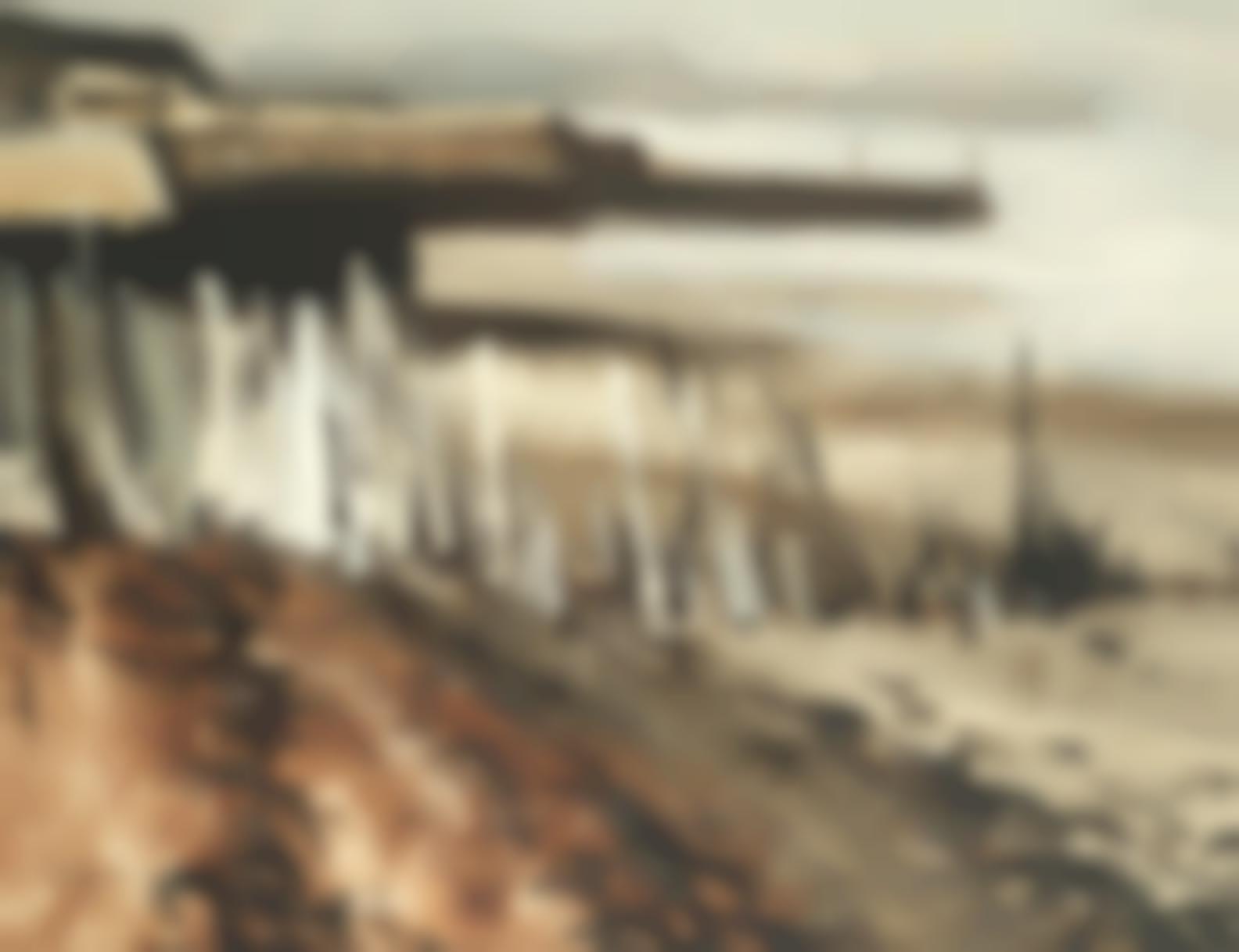 Donald Mcintyre - Coastal Scene With Jetty-
