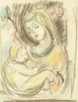 Matthew Smith - Madonna And Child