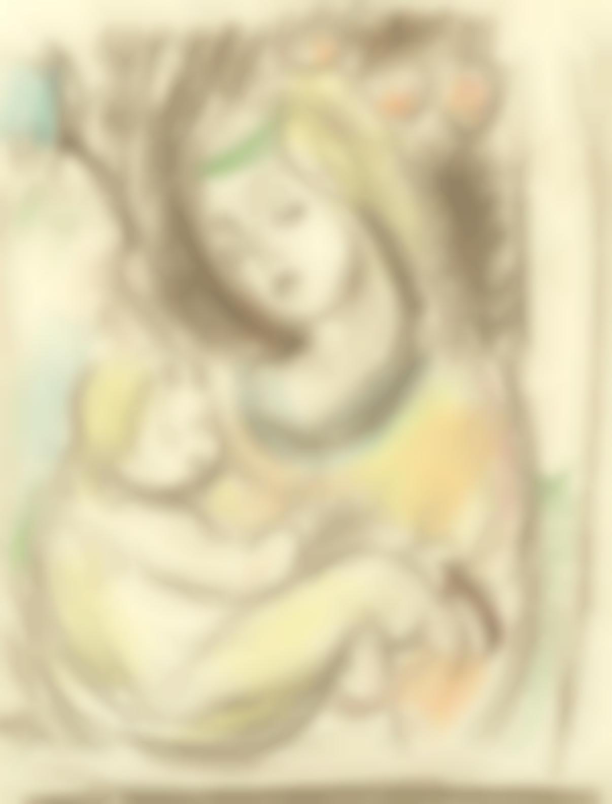 Matthew Smith - Madonna And Child-