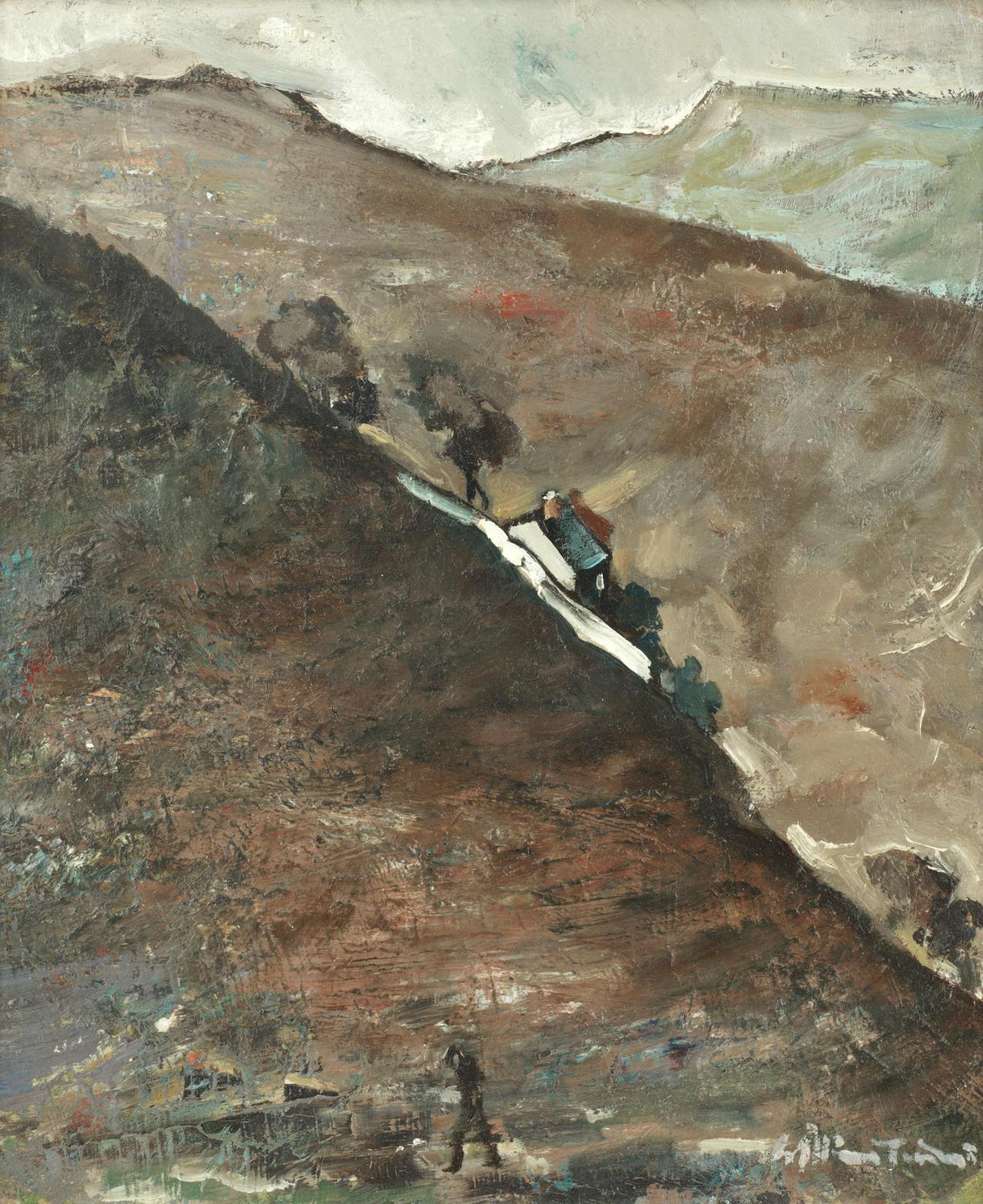 William Ralph Turner - Jacobs Ladder, Derbyshire-