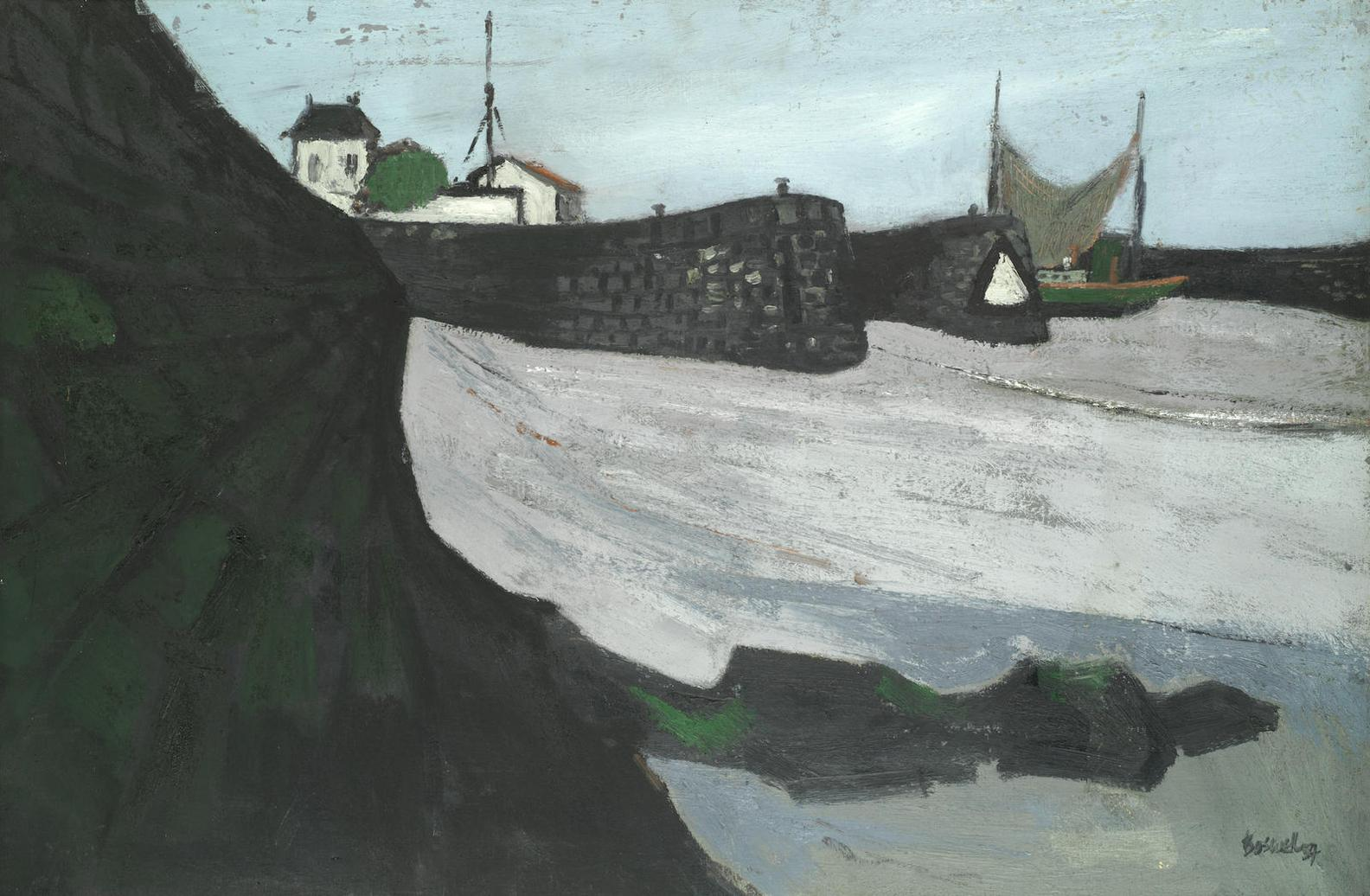 James Boswell - La Flotte Harbour-1954