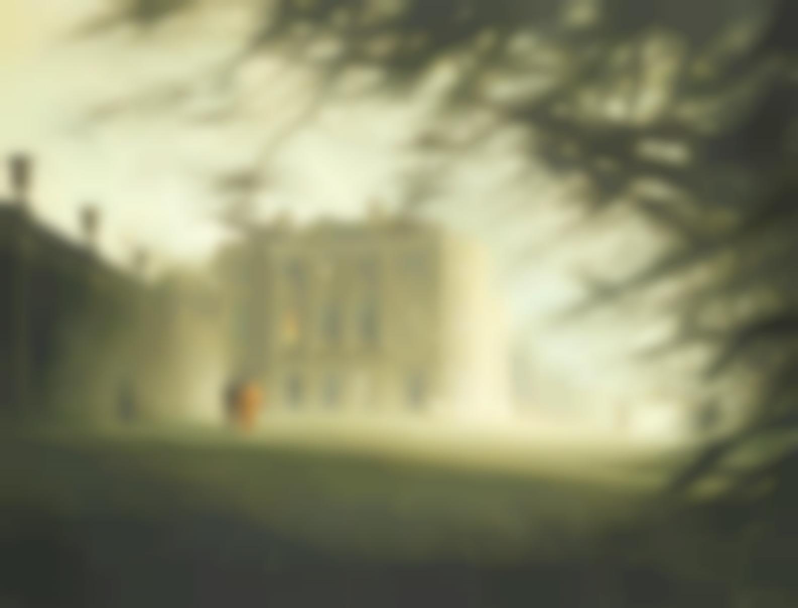 Felix Kelly - Claverton Manor, Bath-1975