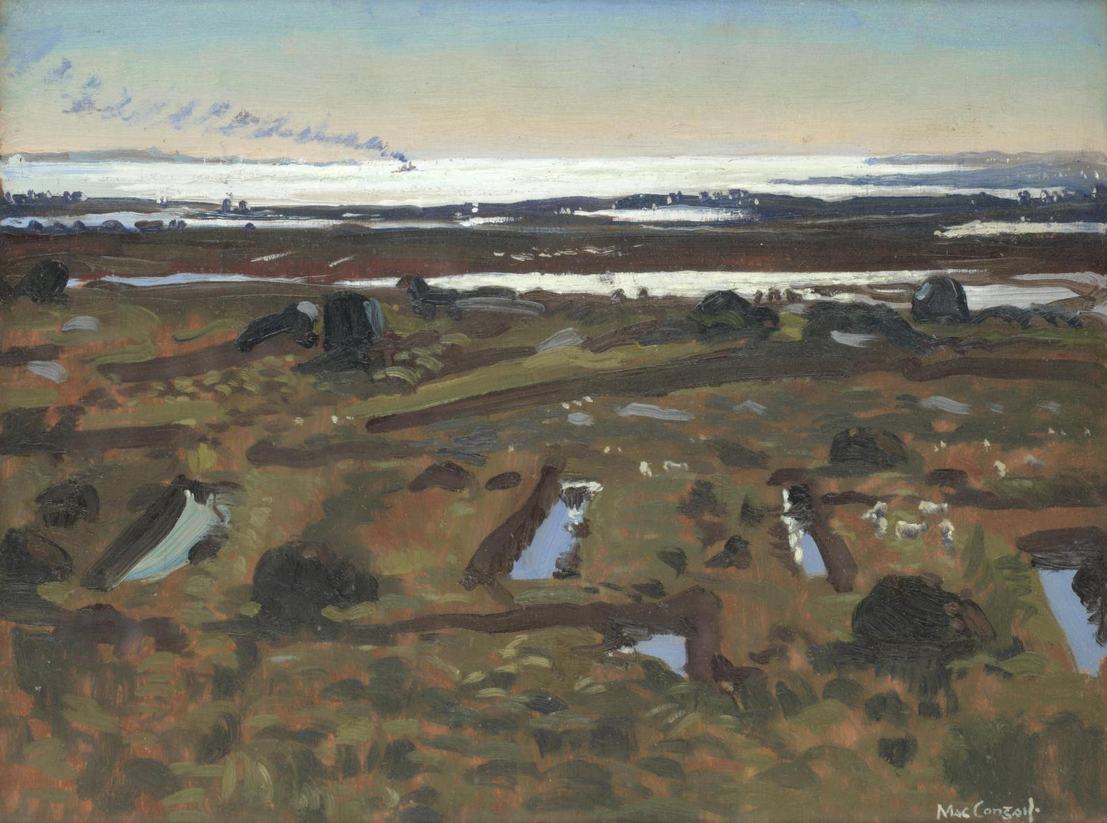 Maurice Macgonigal - Mountain Bog, Inverin, Connemara-