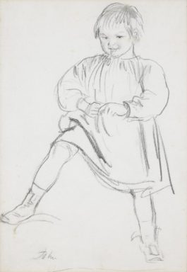 Augustus Edwin John - Study Of The Artists Son, Caspar