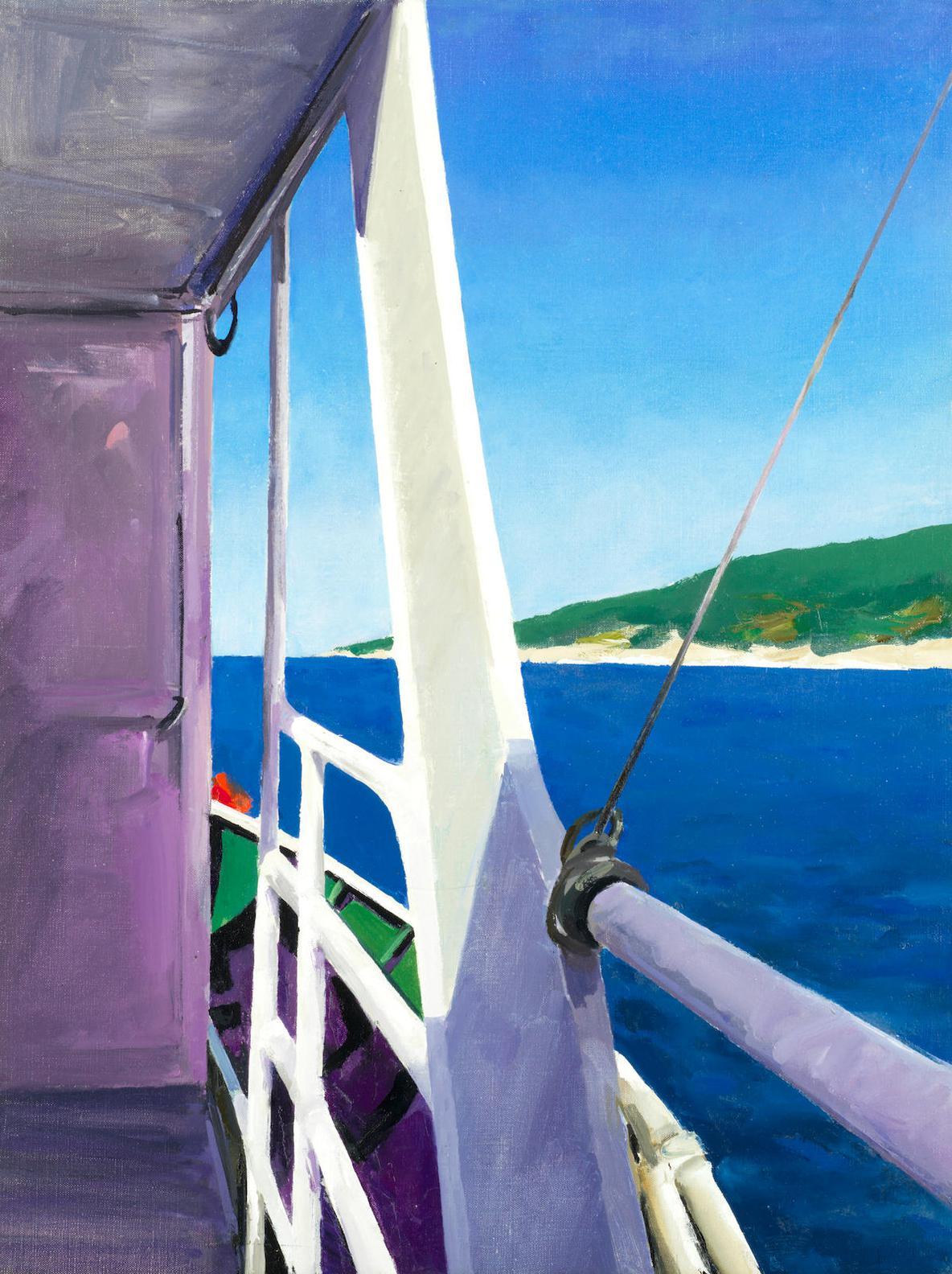 Donald Hamilton Fraser - Offshore Boat-