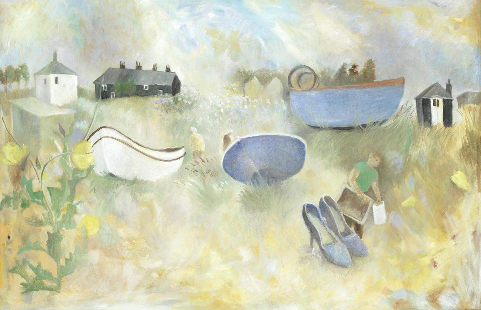 Tessa Newcomb - Things On Sizewell Beach-1998
