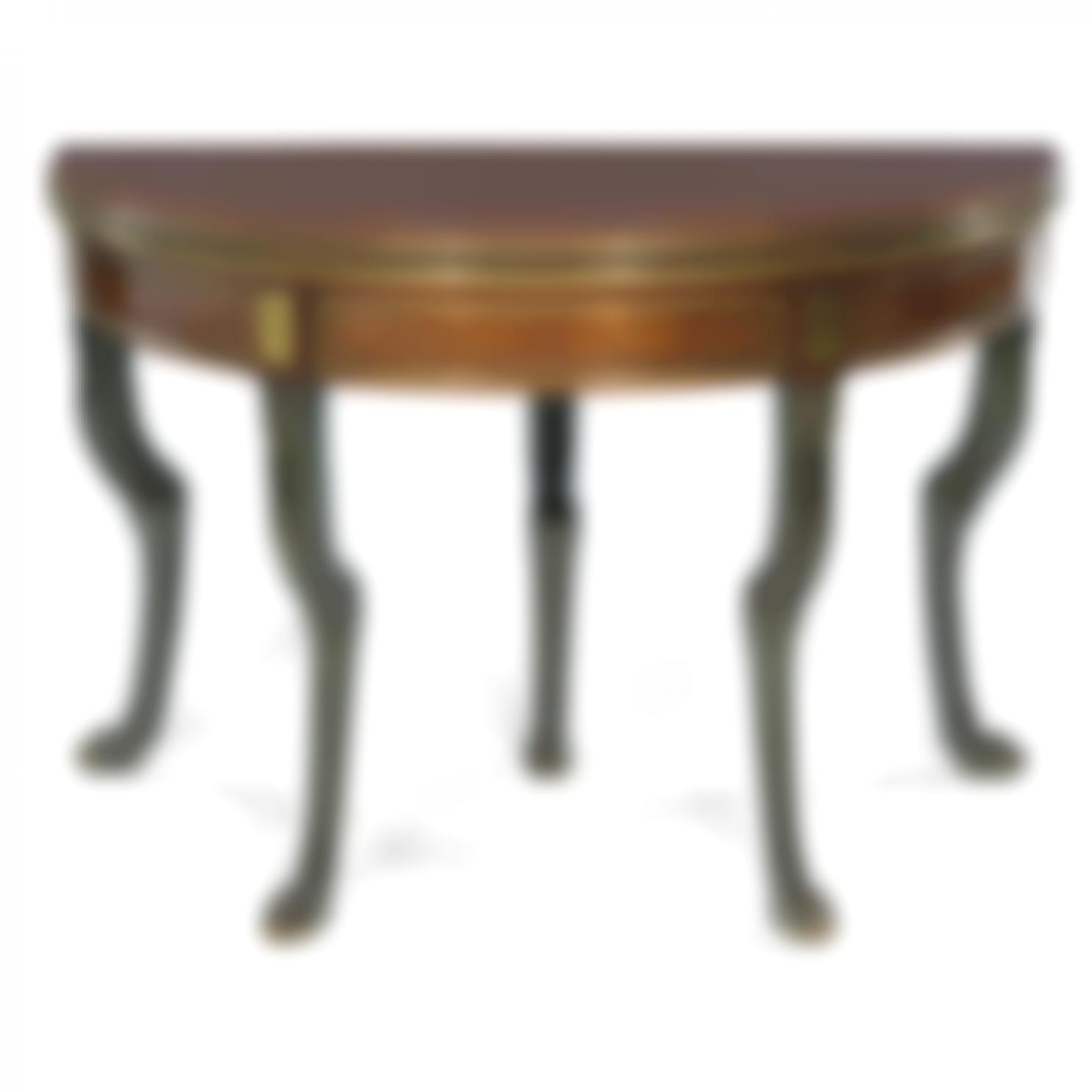 Table A Jeu En Demi-Lune-