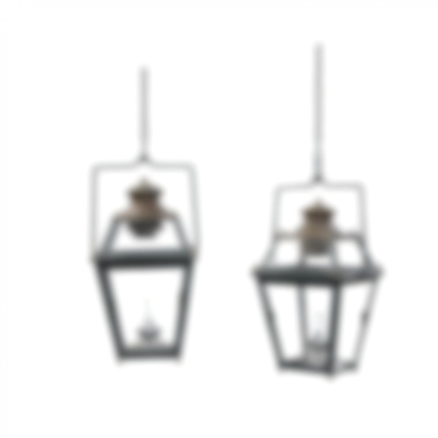 Paire De Lanternes-