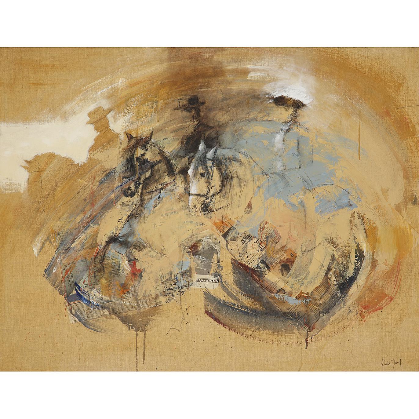 Hubert De Watrigant - Chevaux Et Cavaliers Andalous-