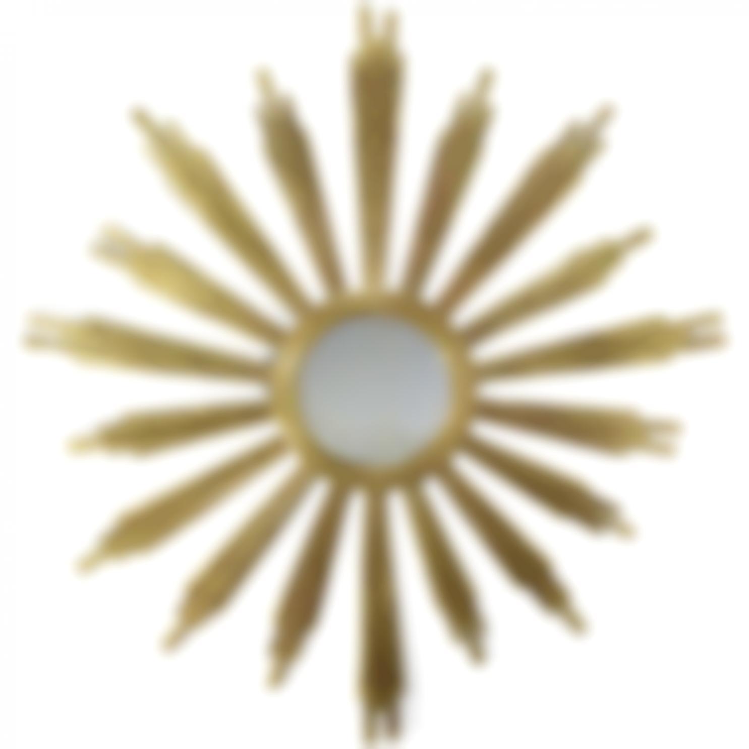 Tres Grand Miroir Soleil-