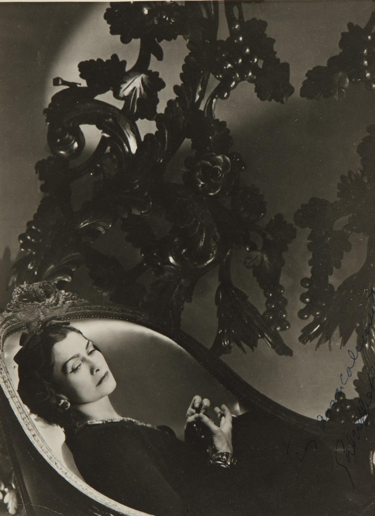 Horst P. Horst-Gabrielle (Coco) Chanel-1937