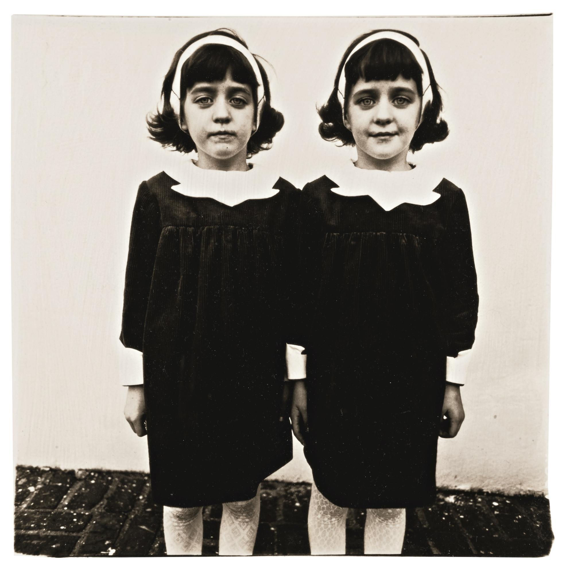Diane Arbus-Identical Twins, Roselle, N. J.-1967