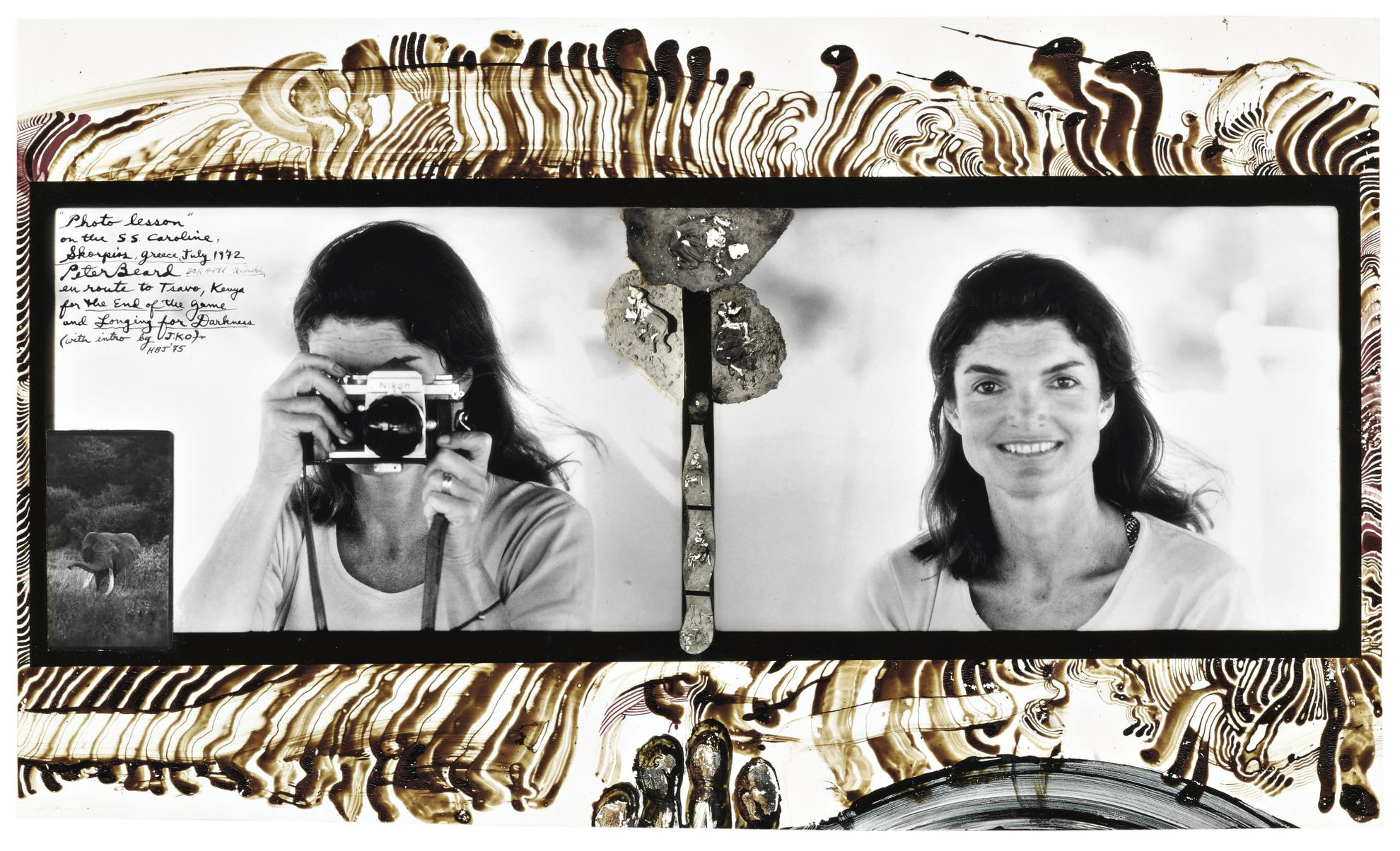 Peter Beard-Photo Lesson On The S. S. Caroline, Skorpios, Greece, July 1972 (Jacqueline Kennedy Onassis)-1972