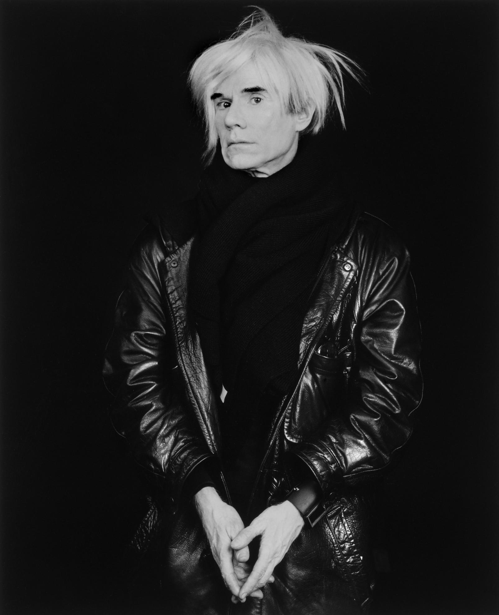 Robert Mapplethorpe-Andy Warhol-1986