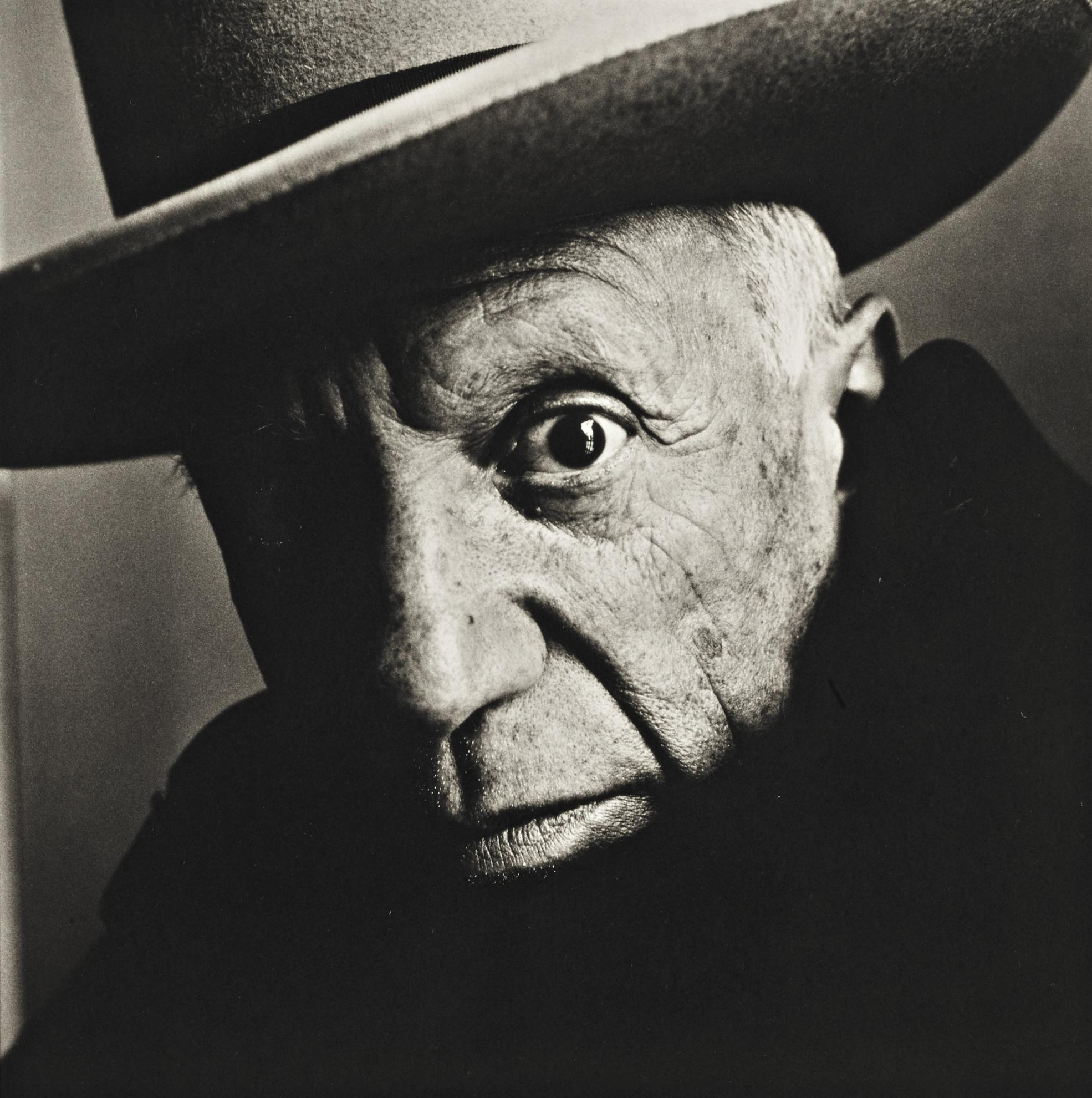 Irving Penn-Picasso (B) Cannes-1957