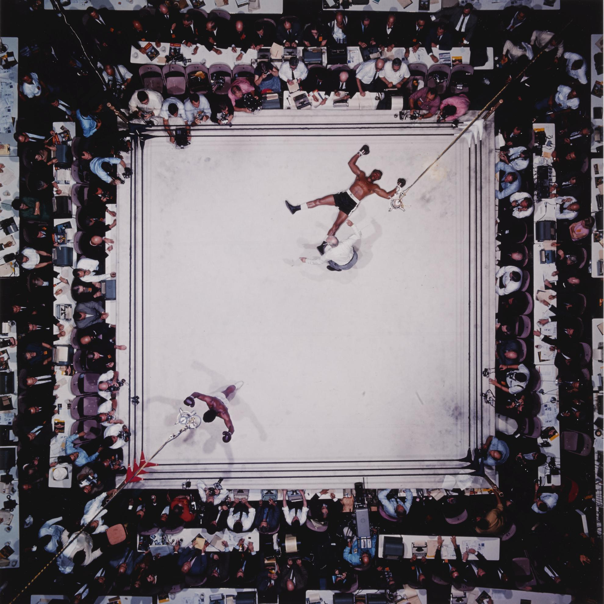 Neil Leifer-Muhammad Ali Vs. Cleveland Williams, Houston, Texas-1996