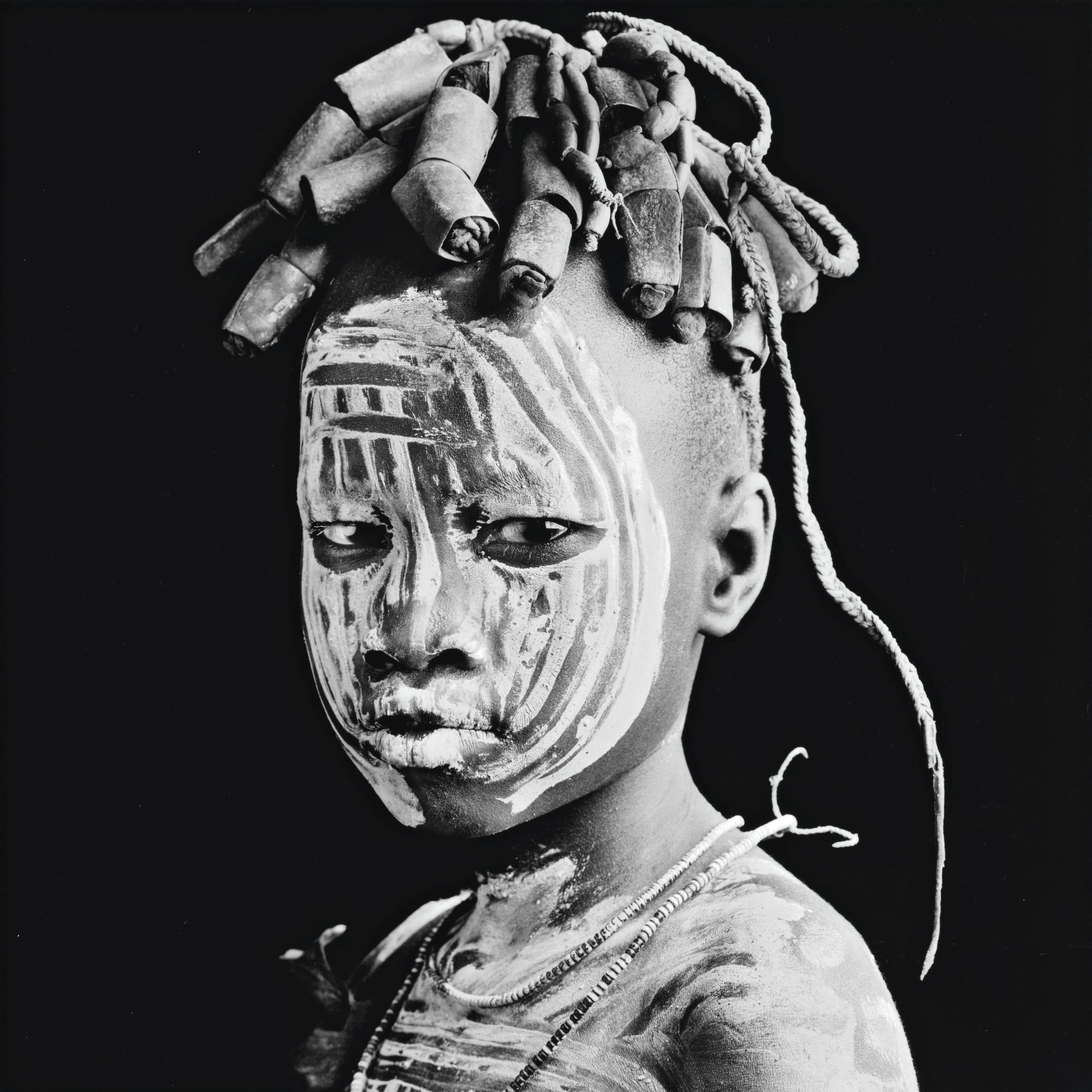 Jean-Baptiste Huynh-Ethiopie - Portrait VI-2005