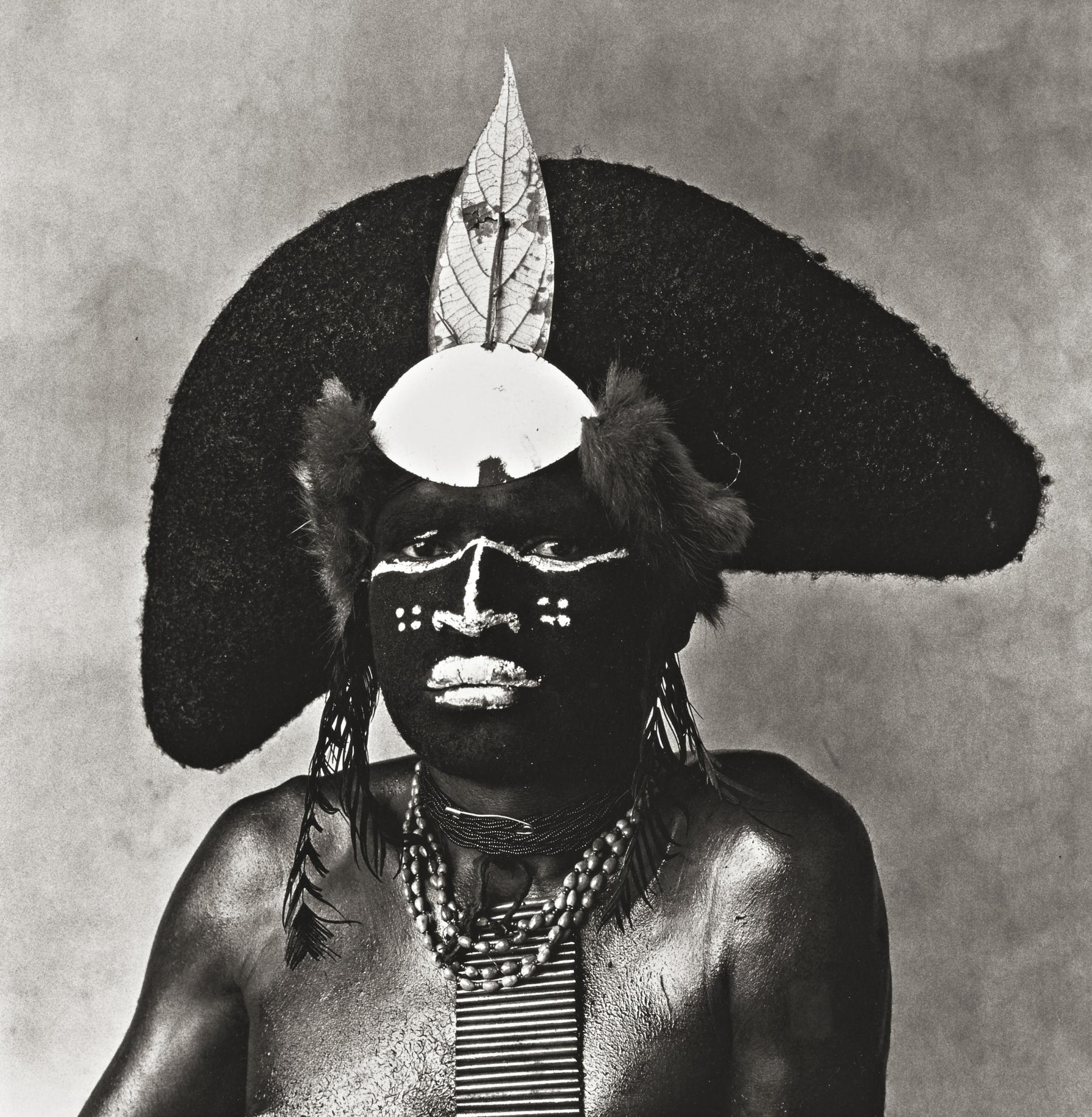 Irving Penn-Enga Warrior-1970