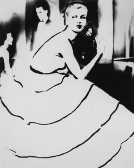 Lillian Bassman-Margie Cato, Harpers Bazaar (Born To Dance, Dress By Emily Wilkins, New York)-1950
