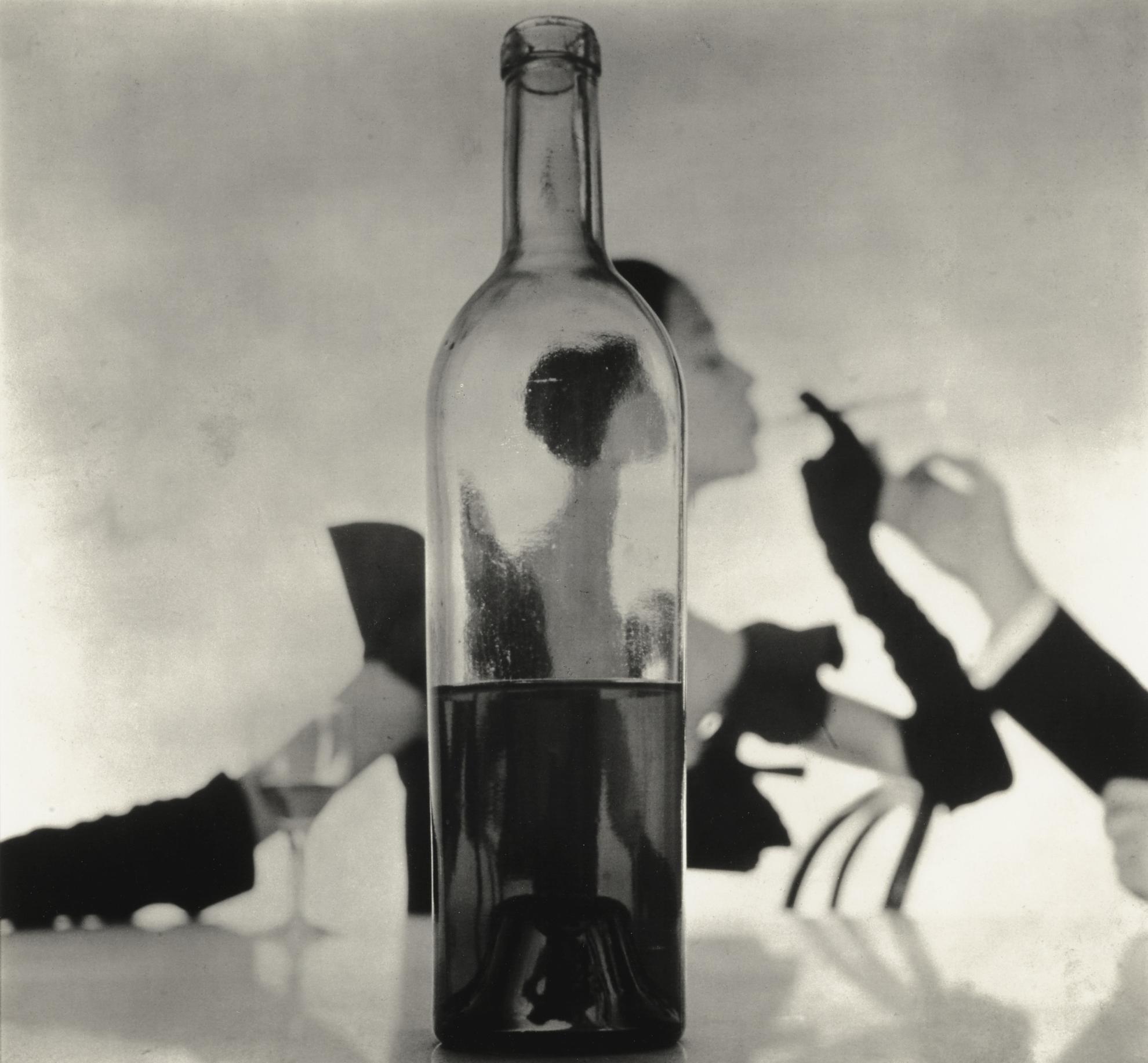 Irving Penn-Man Lighting Girls Cigarette (New York)-1949