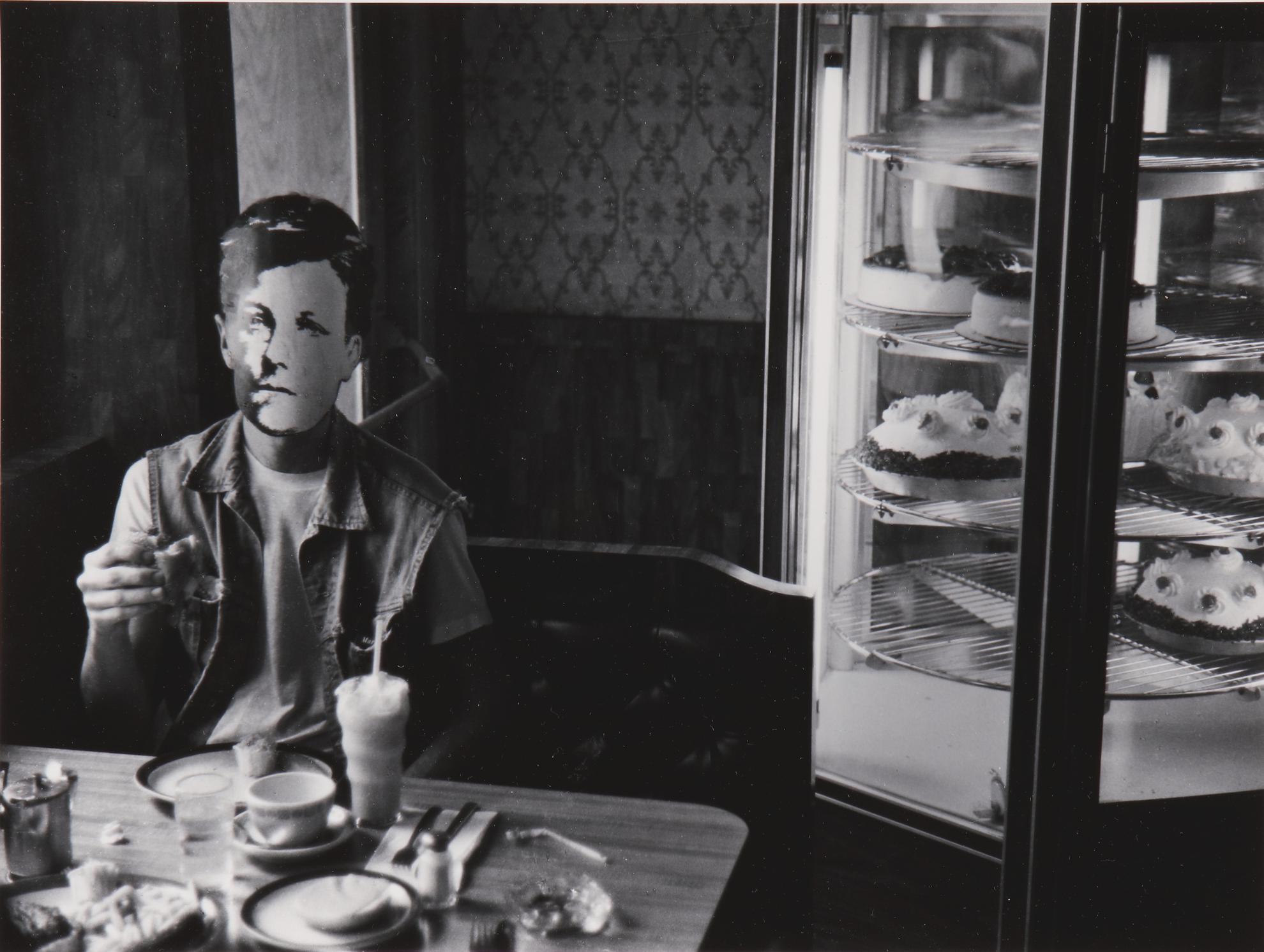 David Wojnarowicz-Rimbaud In New York (In Diner)-1978