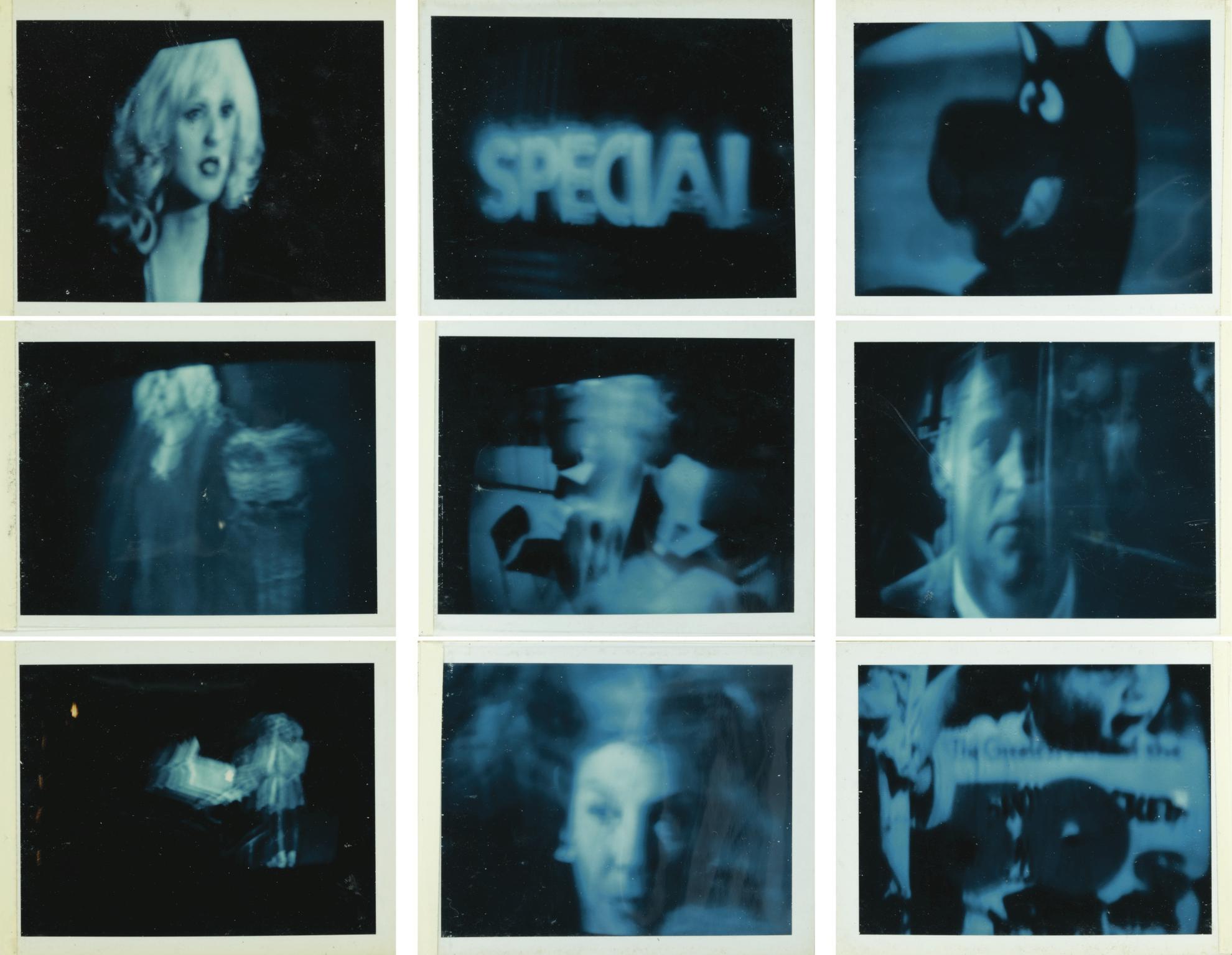 Brigid Berlin-Blue TV-1969