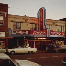 Stephen Shore-Bay Theater, 2Nd St., Ashland, Wisc.-1973