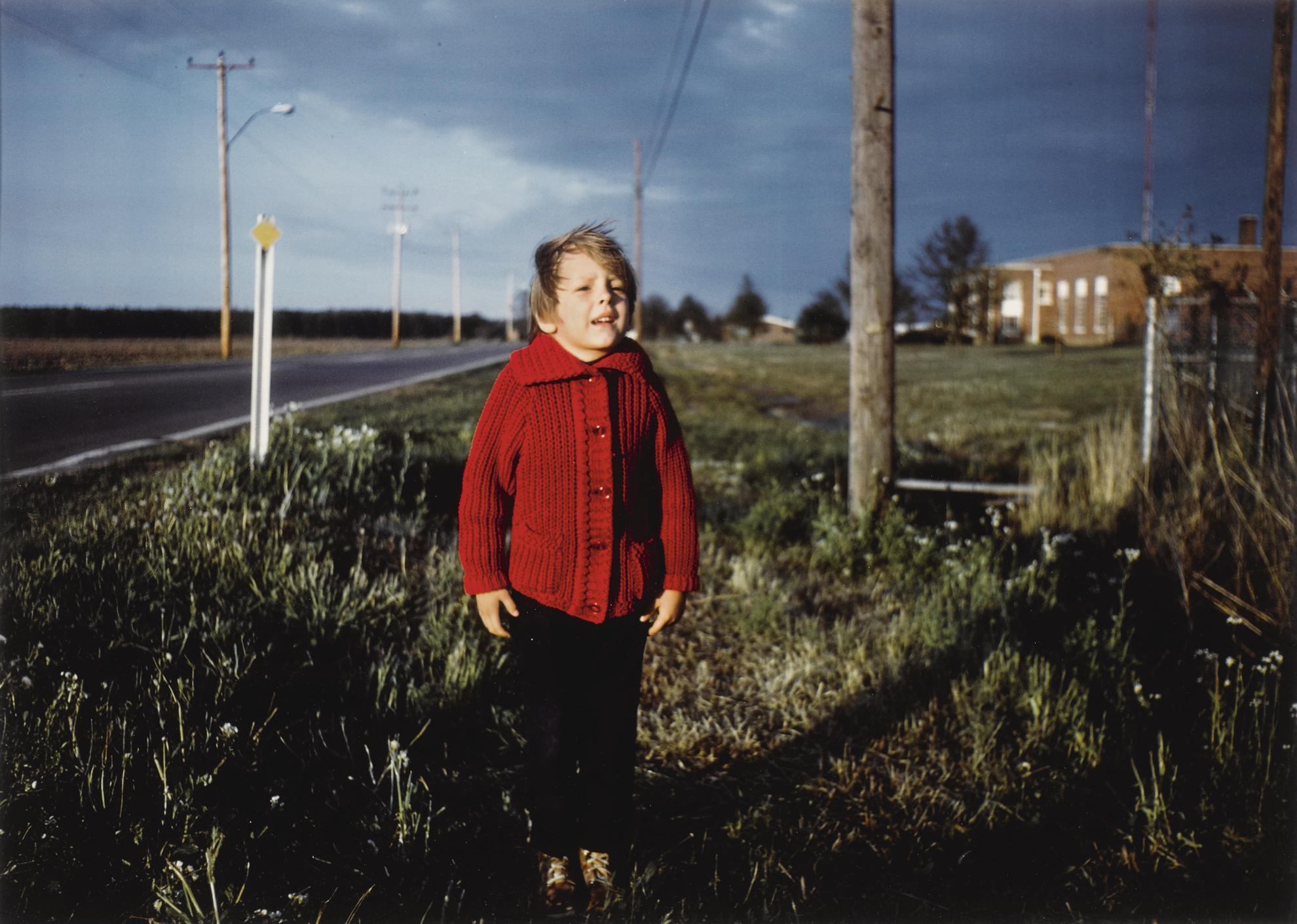William Eggleston-Untitled (Boy In Red Sweater)-1971