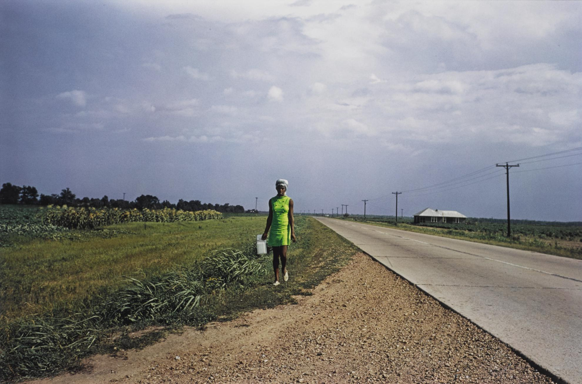 William Eggleston-Untitled (Near Minter City And Glendora, Mississippi)-1970