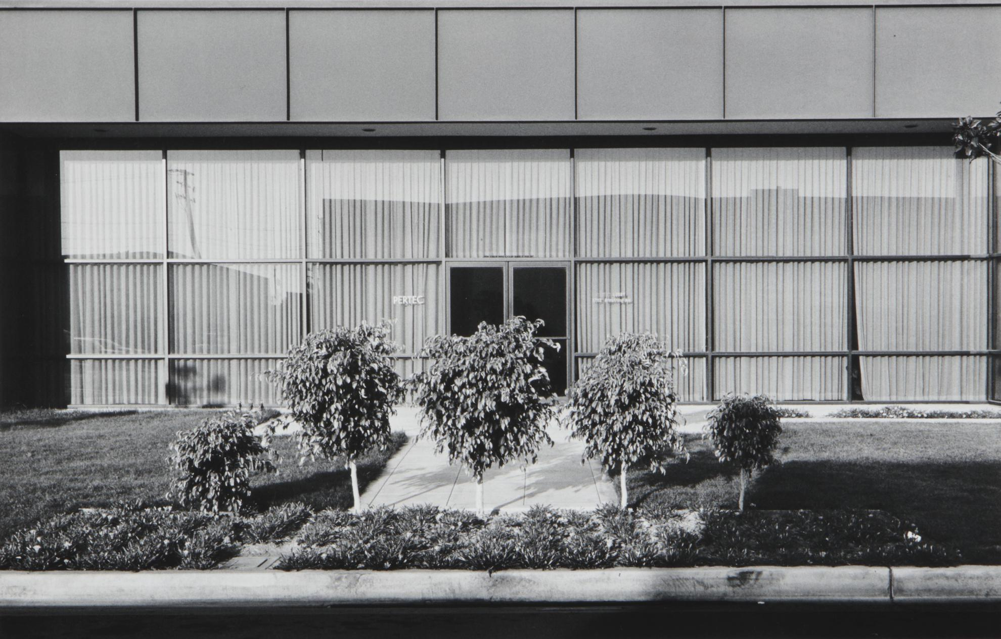 Lewis Baltz-New Industrial Parks #37: East Wall, Business Systems Division, Pertec, 1881 Langley, Santa Ana-